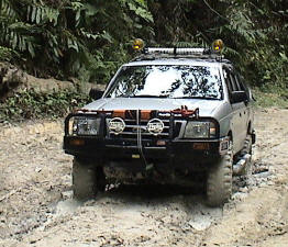 Kalimantan 4 Wheel Drive Off Road Adventure Tours at Kalimantan,Tours in the Jungle,Visit Dayak Tribes,